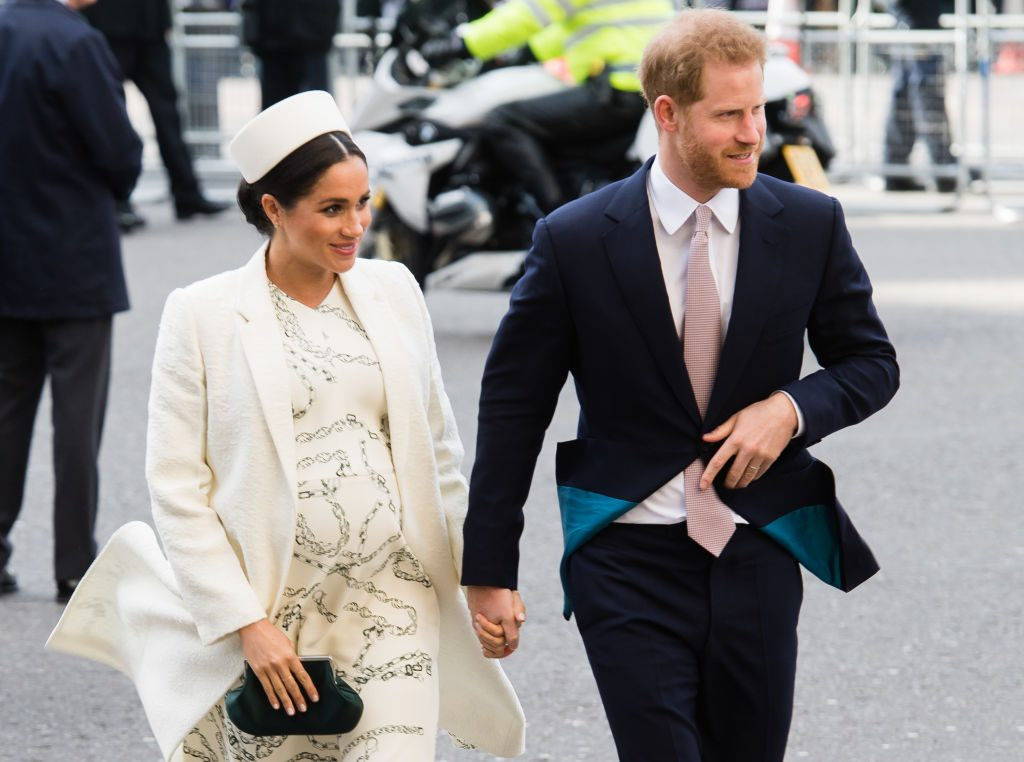Prince Harry and Meghan Markle at Commonwealth Day 2019.