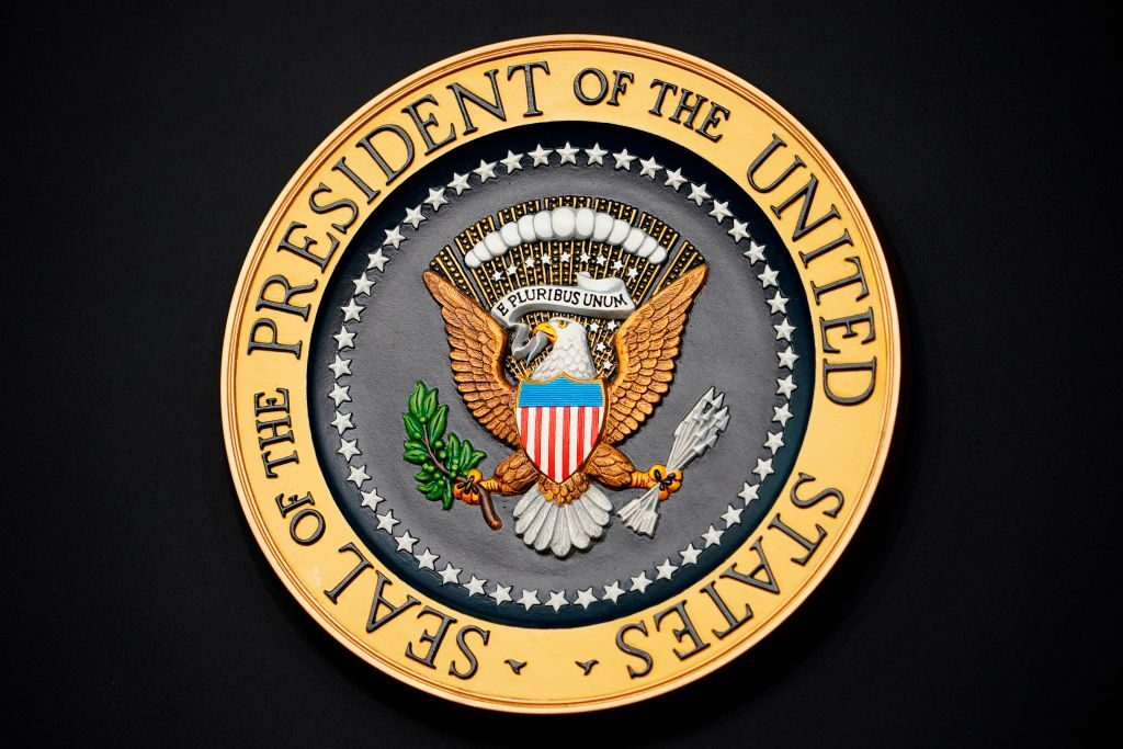 The official seal of the President of the United States