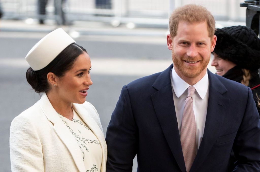 Prince Harry and Meghan Markle on Commonwealth Day 2019