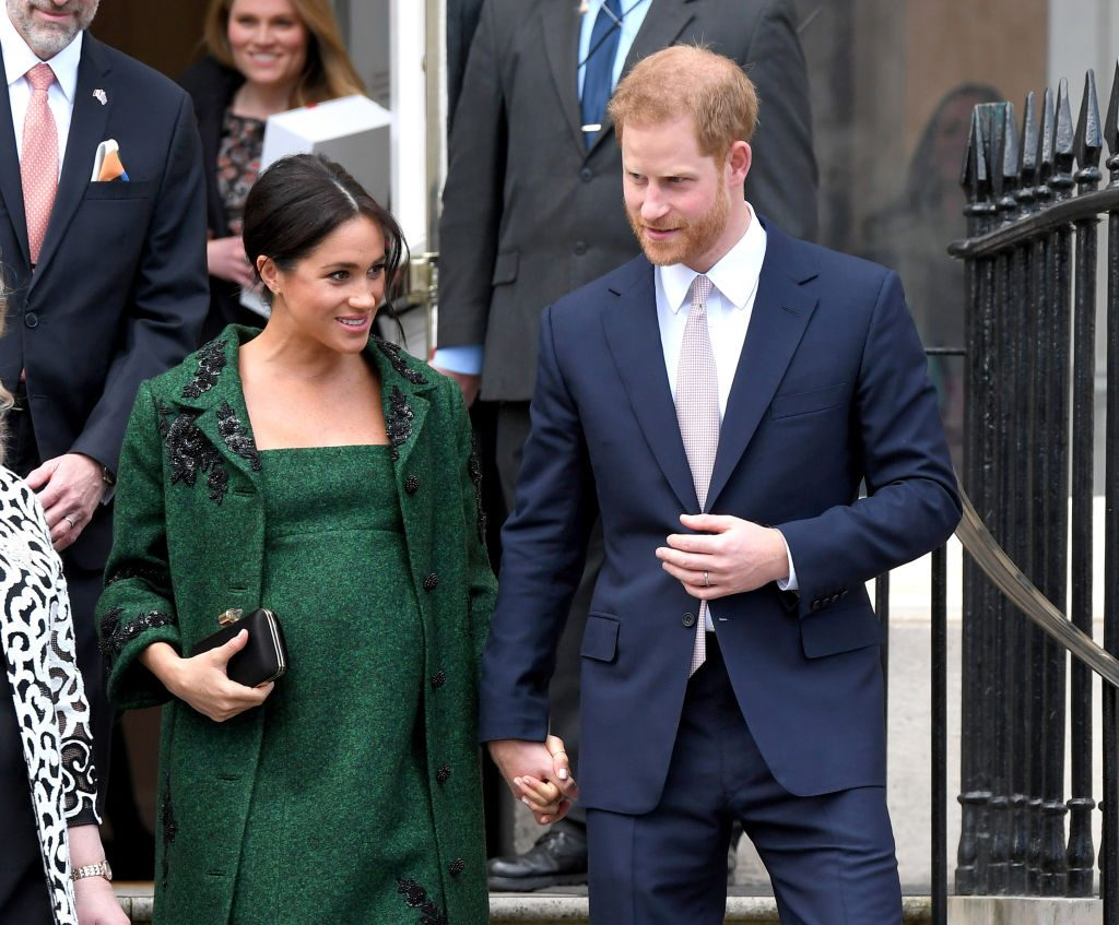 Prince Harry and Meghan Markle Attend A Commonwealth Day Youth Event At Canada House.