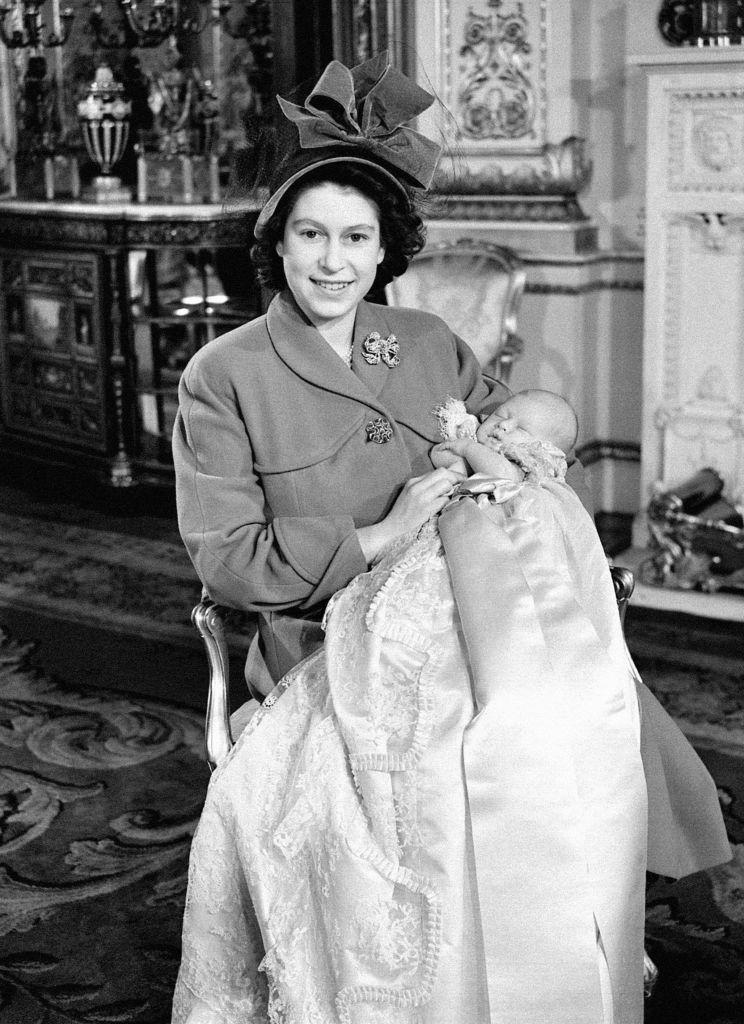 Prince Charles royal christening