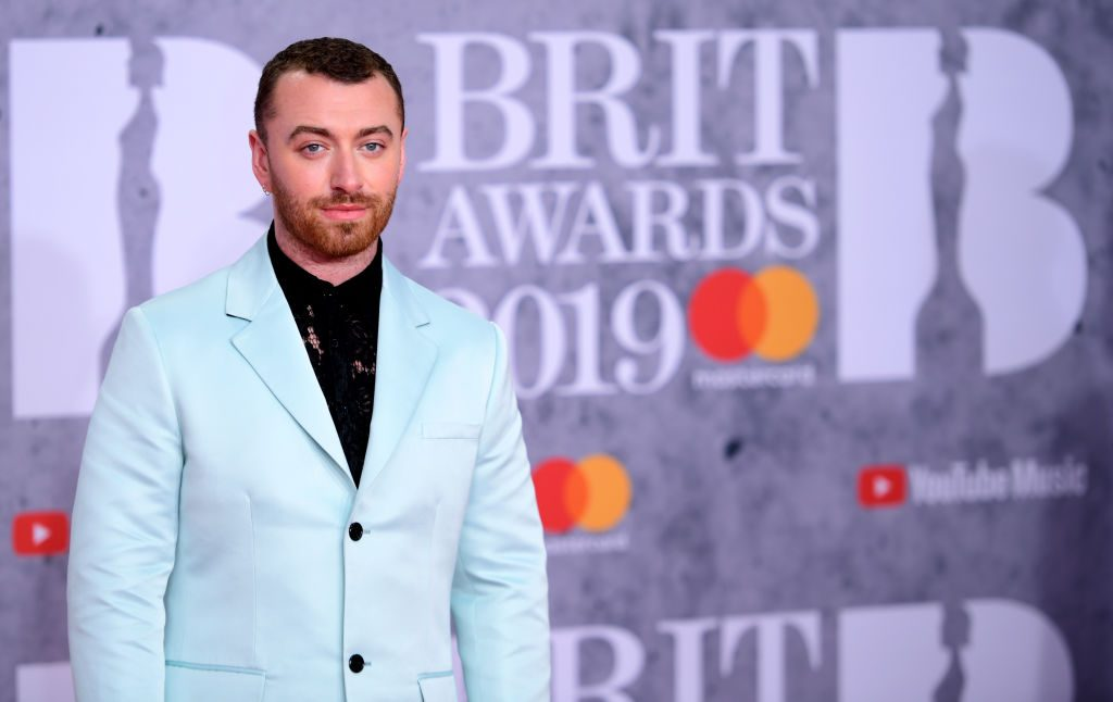 Sam Smith at the 2019 Brit Awards.