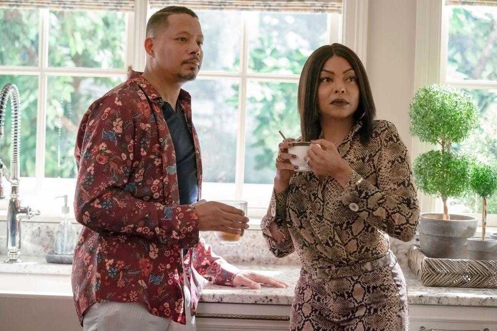 Terrence Howard and Taraji P. Henson