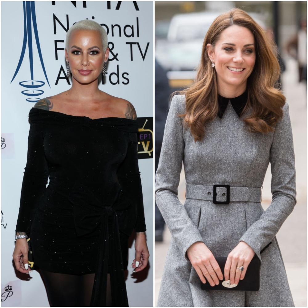 Amber Rose and Kate Middleton