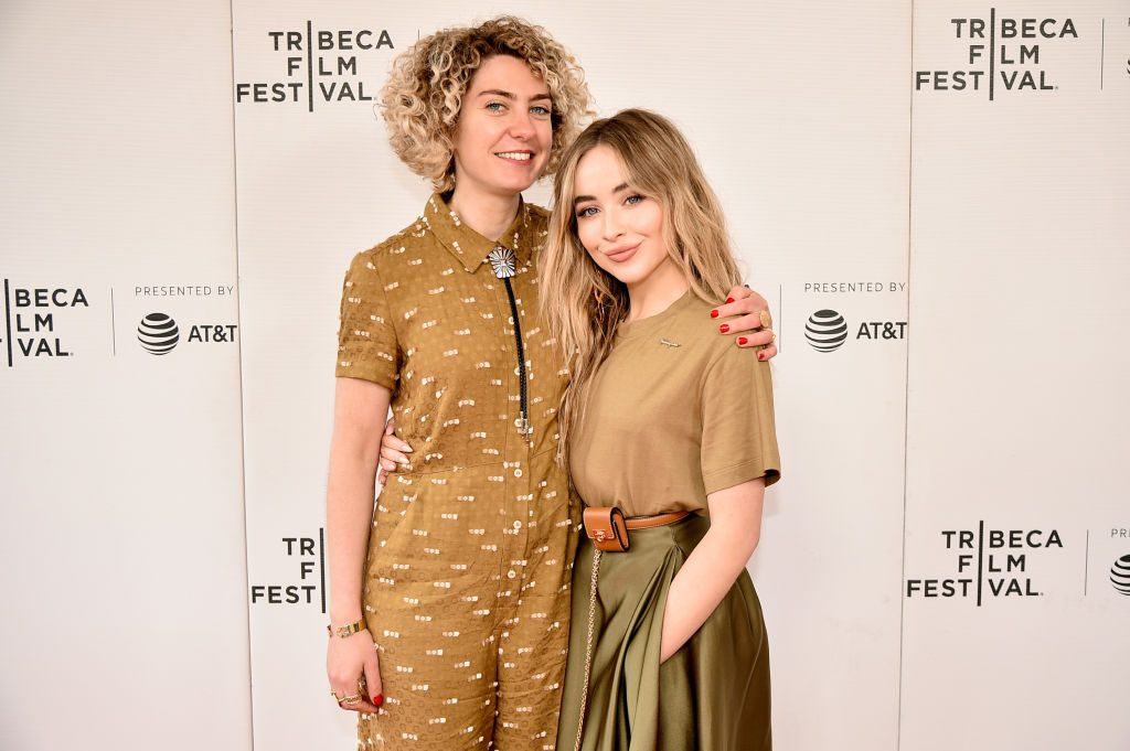 """Ani Simon-Kennedy and Sabrina Carpenter attends """"The Short History Of The Long Road"""""""