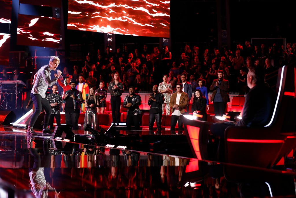 """Betsy Ade on """"The Voice"""""""