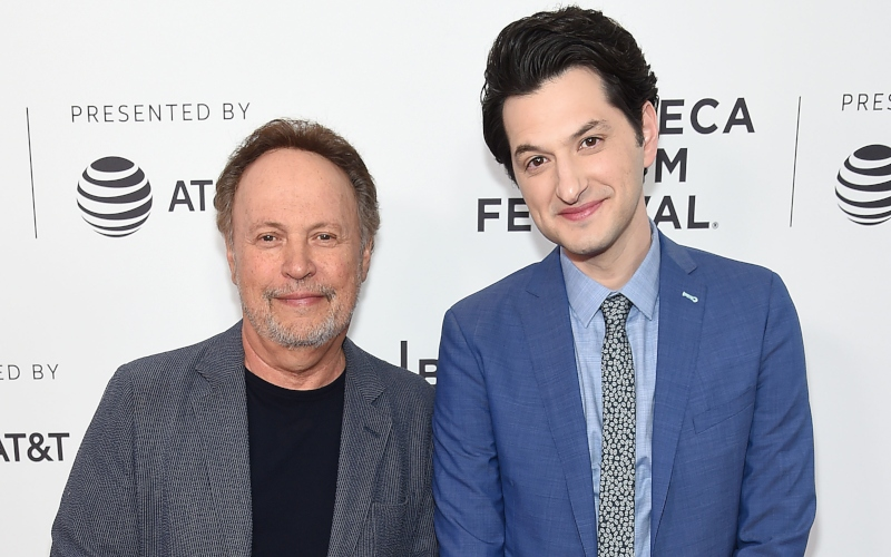 Billy Crystal and Ben Schwartz