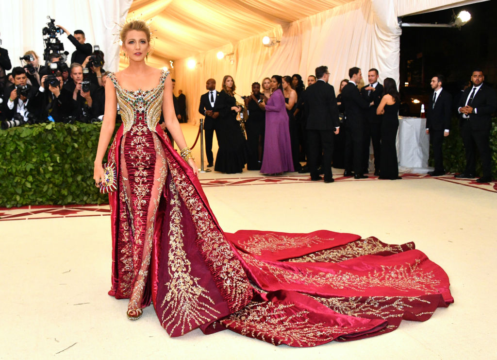 Blake Lively at the 2018 Met Gala.