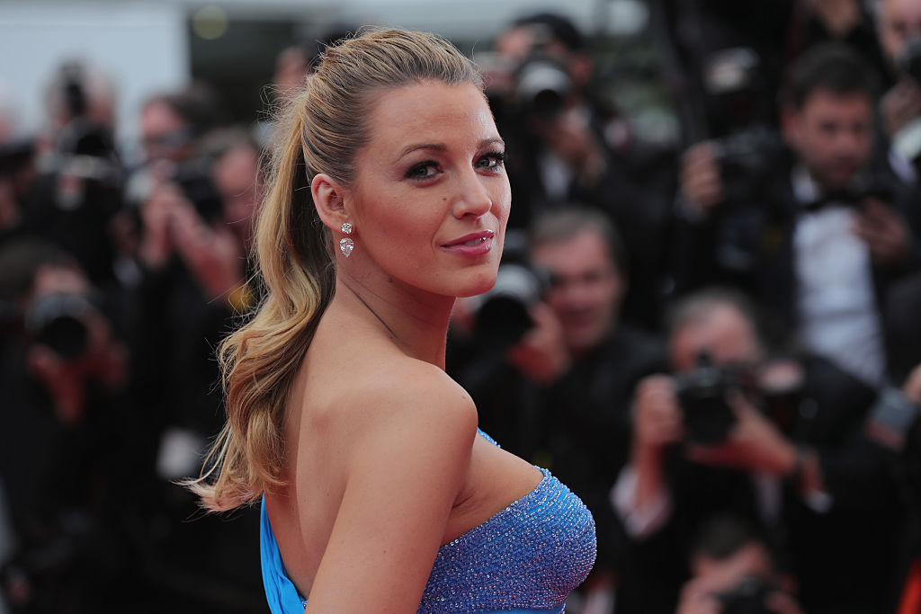 Blake Lively at 2016 Cannes Film Festival.