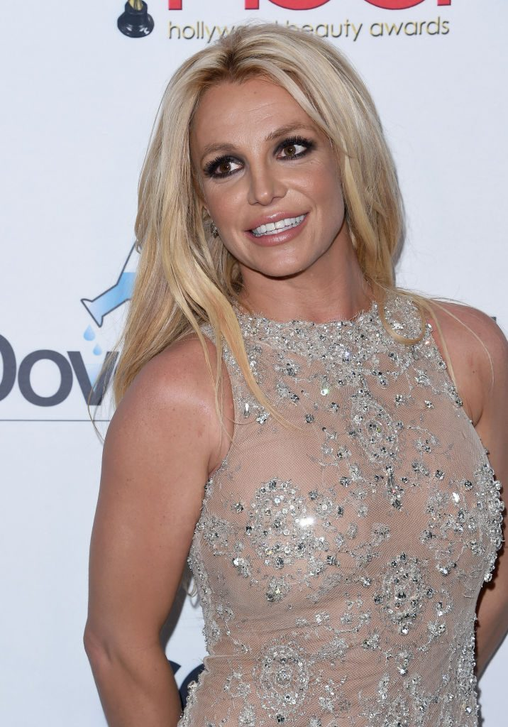 Red carpet photo of Britney Spears