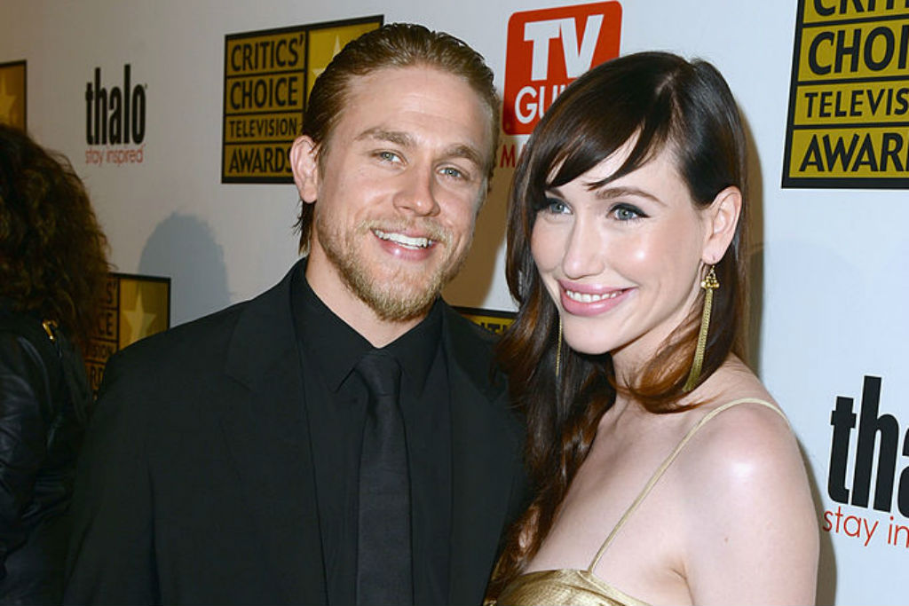 Charlie Hunnam and Morgana McNelis arrive at Broadcast Television Journalists Association Second Annual Critics' Choice Awards at The Beverly Hilton Hotel on June 18, 2012 in Beverly Hills, California