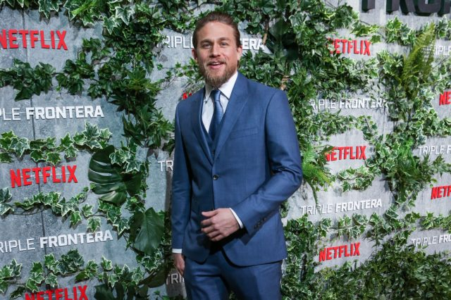 Charlie Hunnam at the Triple Frontier premiere in Spain