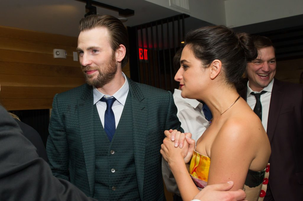 "Jenny Slate Talks Ex Chris Evans: He Was ""Really Vulnerable"""