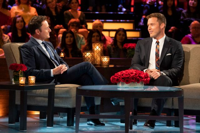 Chris Harrison and Colton Underwood | Eric McCandless via Getty Images