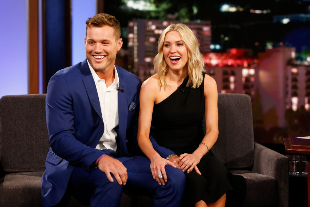 Colton Underwood and Cassie Randolph | Randy Holmes via Getty Images
