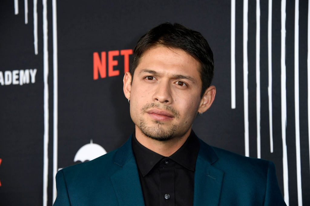"David Castaneda attends the premiere of Netflix's ""The Umbrella Academy"""