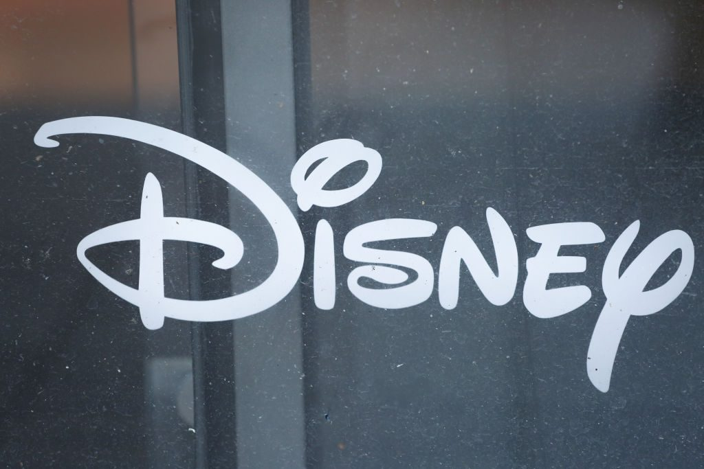 The logo of Disney