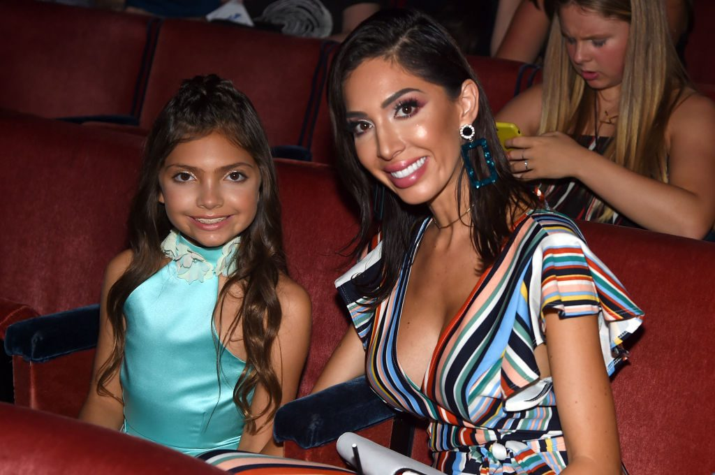 Sophia and Farrah Abraham alums of Teen Mom