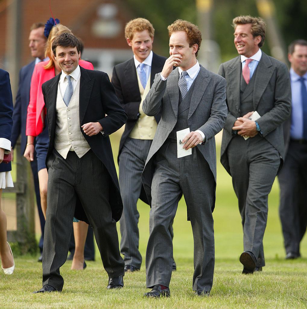 Prince Harry and Tom Inskip