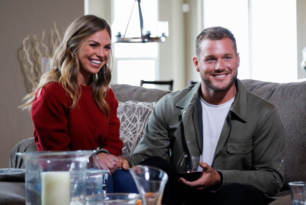 Hannah Brown and Colton Underwood | Josh Vertucci via Getty Images