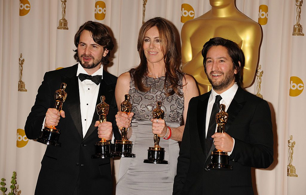 Winners of Best Picture for 'The Hurt Locker'