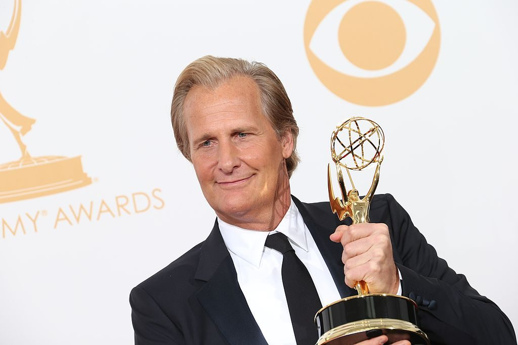 Actor Jeff Daniels at the 2013 Emmy Awards