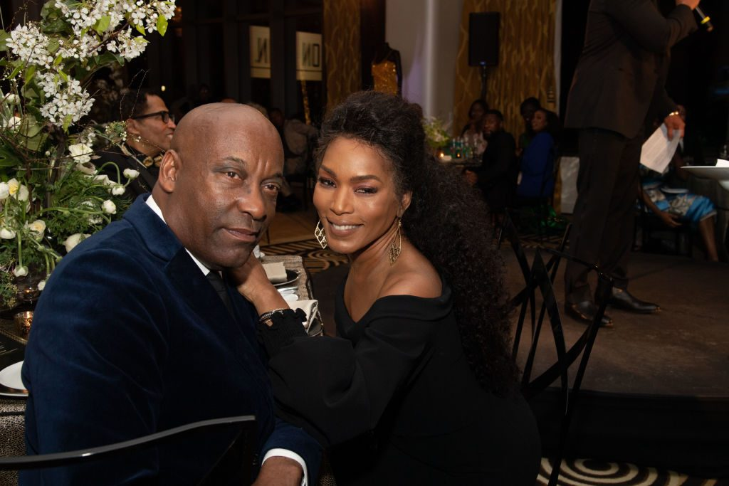 John Singeton and Angela Bassett|Earl Gibson III/Getty Images