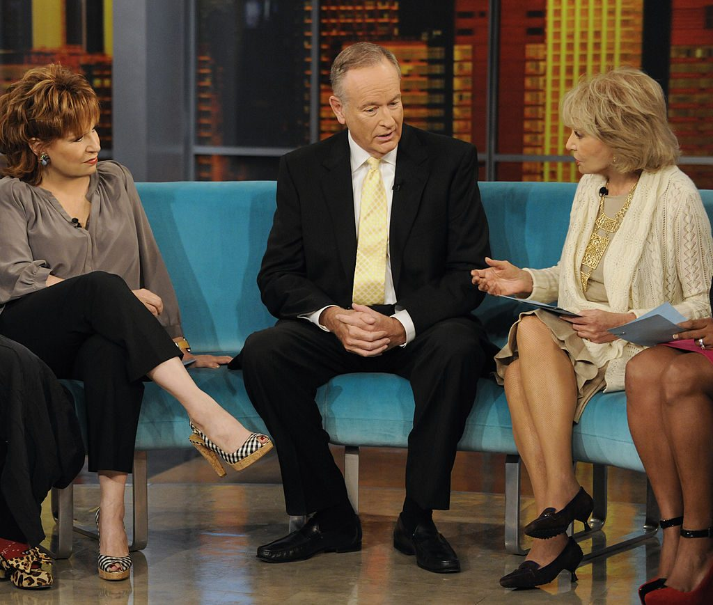 Joy Behar with Bill O'Reilly and Barbara Walters| Donna Svennevik/ABC via Getty Images