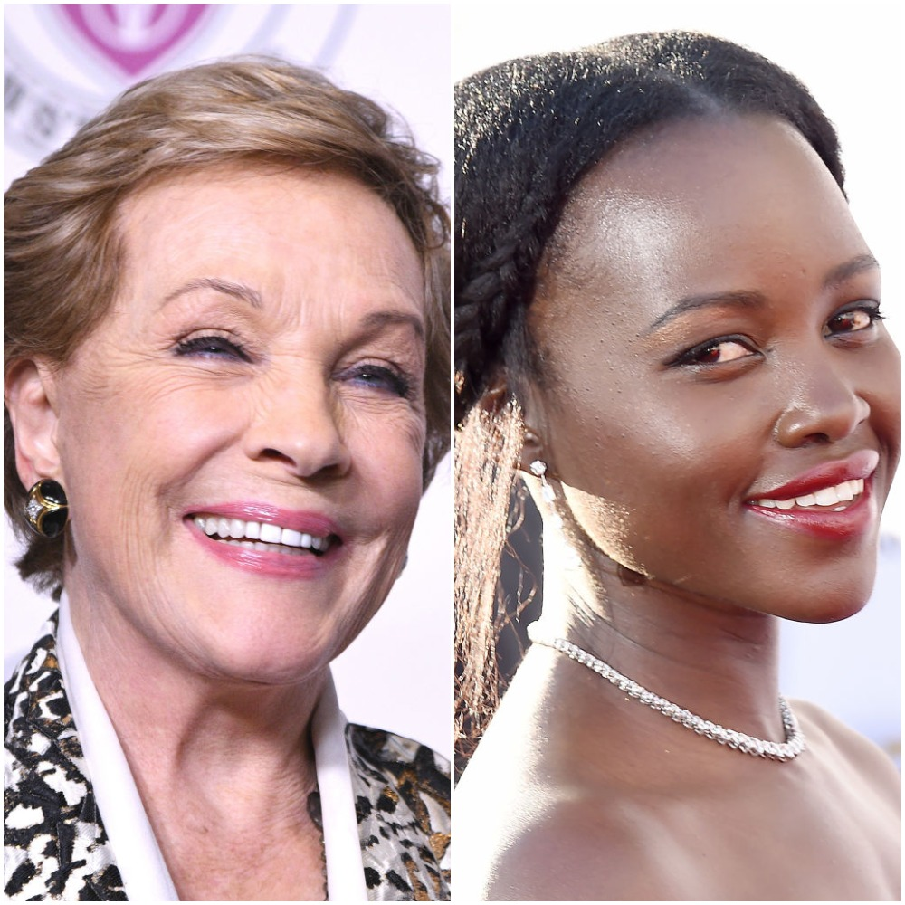 Julie Andrews and Lupita Nyong'o