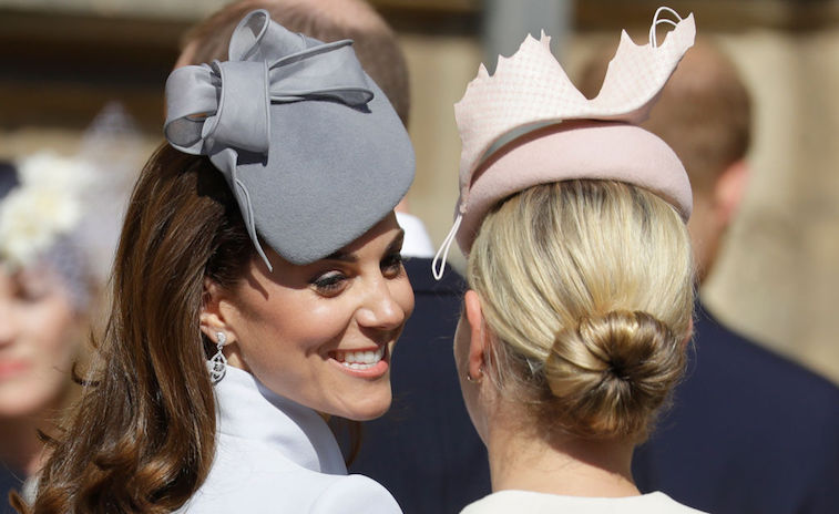Kate Middleton Zara Tindall