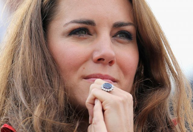 Kate Middleton in 2012 at London Paralympic Games