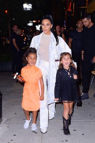 Kim Kardashian North West Penelope Disick