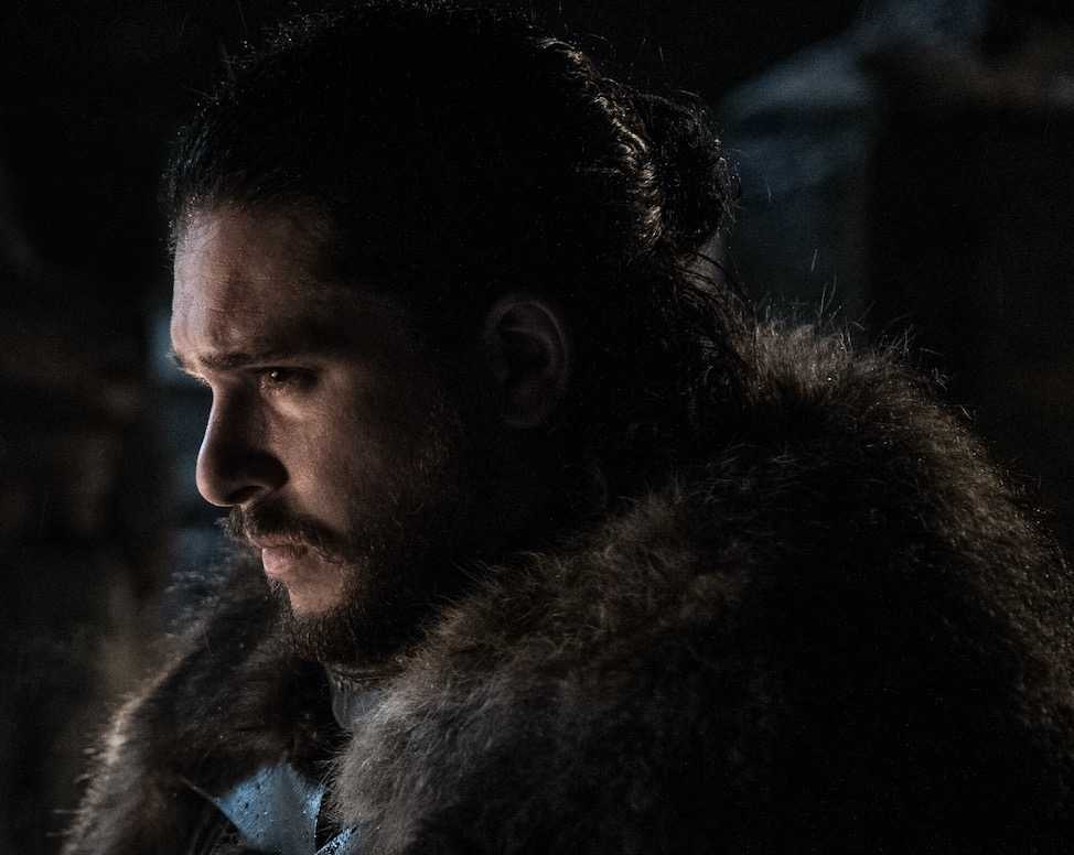 "Kit Harington as Jon Snow on ""Game of Thrones"""