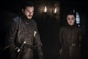 'Game of Thrones': George R.R. Martin Originally Planned For Jon Snow and Arya Stark To Fall In Love
