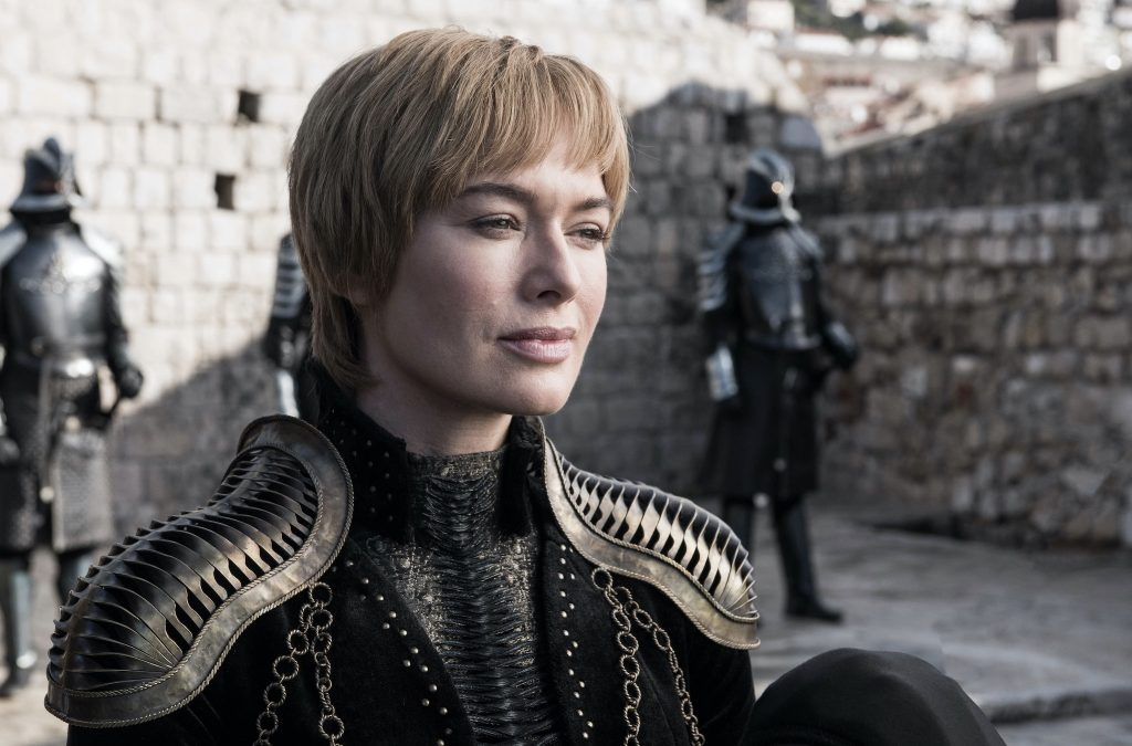 Lena Headey as Cersi Lannister on Game of Thrones