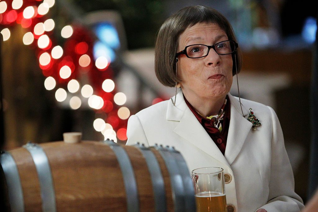 Linda Hunt on the set of NCIS: Los Angeles|Cliff Lipson/CBS via Getty Images