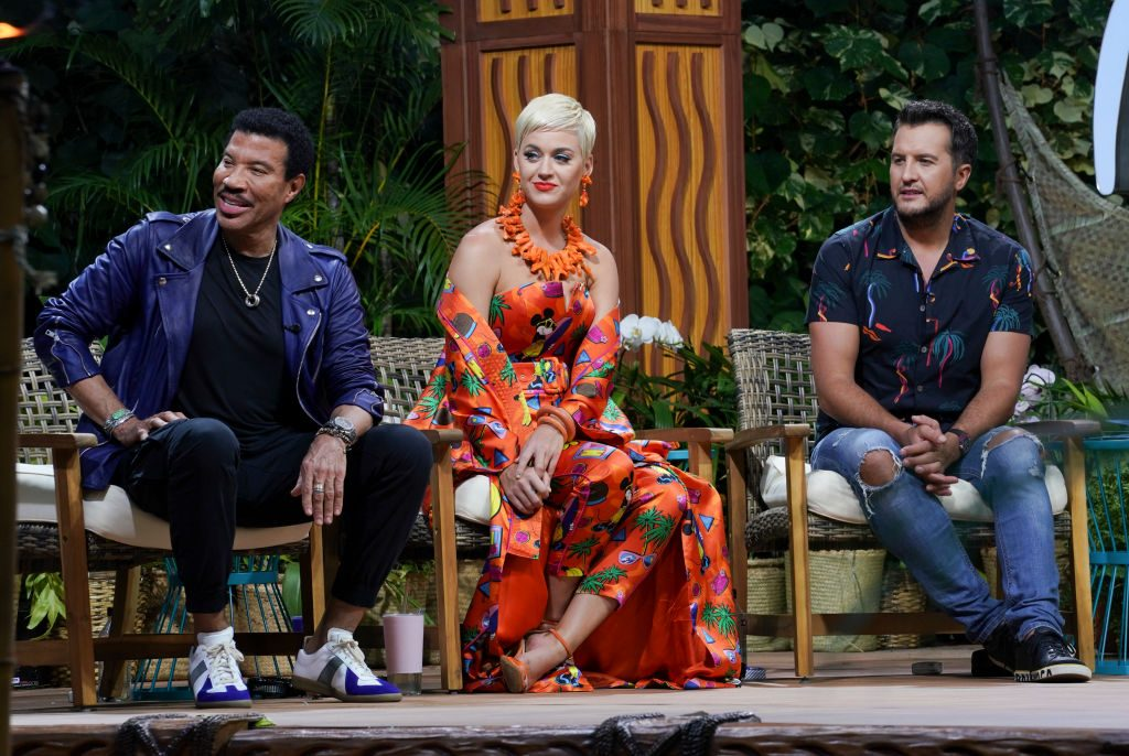 Lionel Richie, Katy Perry, and Luke Bryan