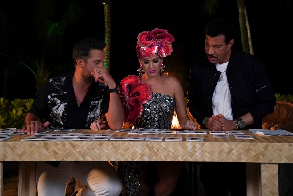 Luke Bryan, Katy Perry, and Lionel Richie