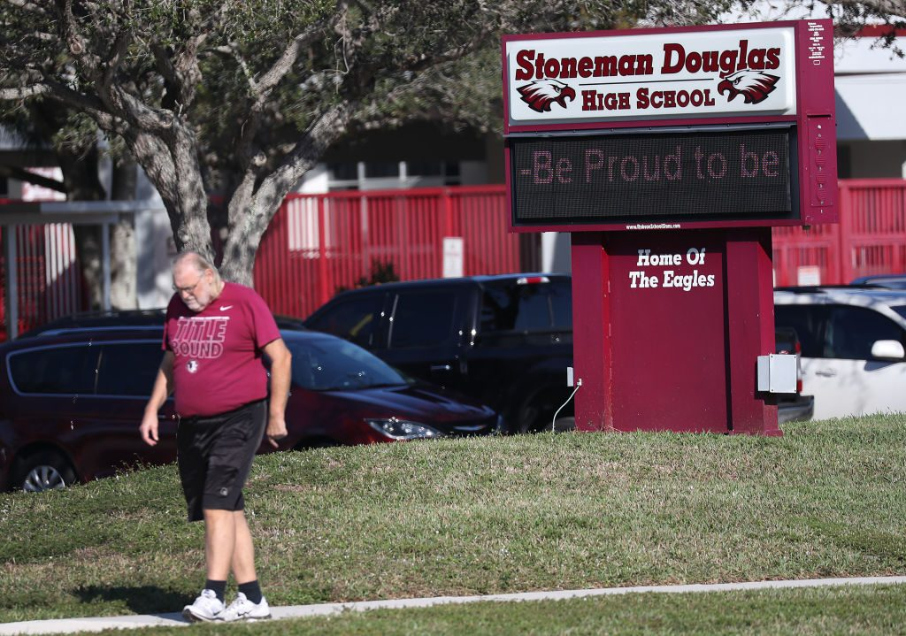 Marjory Stoneman Douglas High School in Parkland Florida