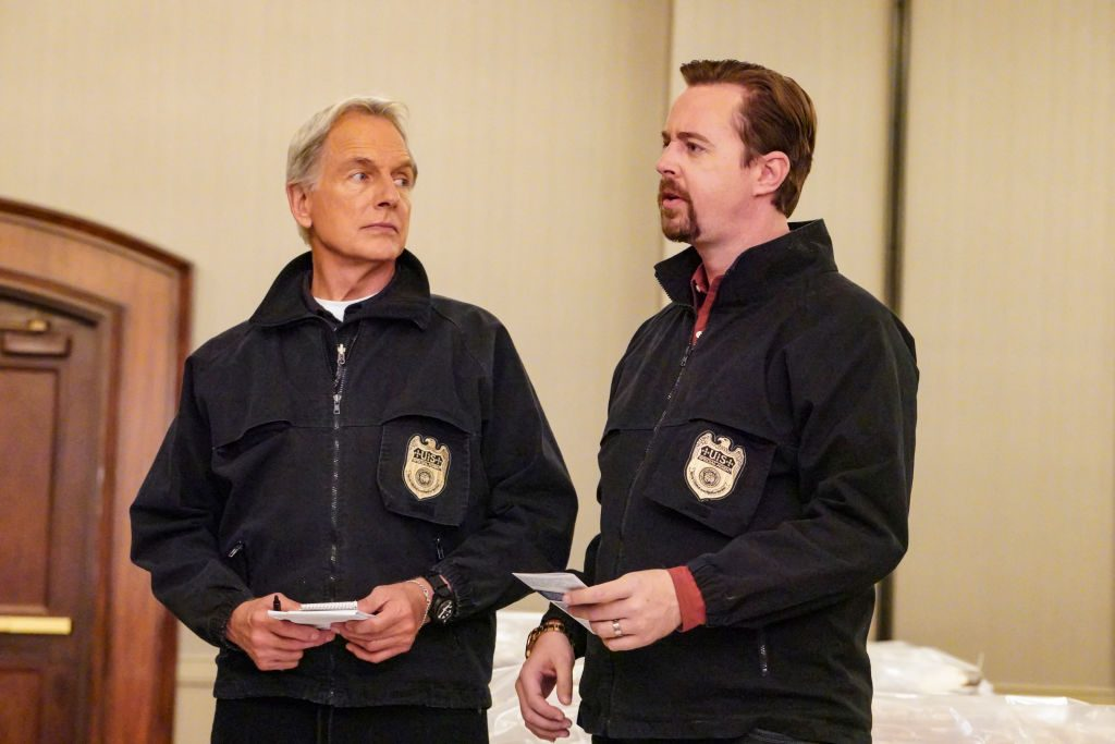 Mark Harmon and Sean Murray on NCIS| Bill Inoshita/CBS via Getty Images