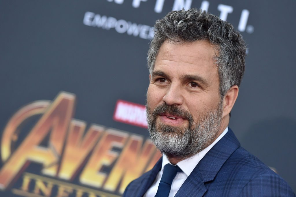 Mark Ruffalo attends the premiere of Disney and Marvel's 'Avengers: Infinity War'.