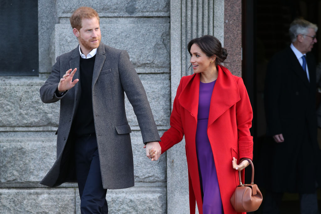 Meghan and Harry may move to Africa in charity work role