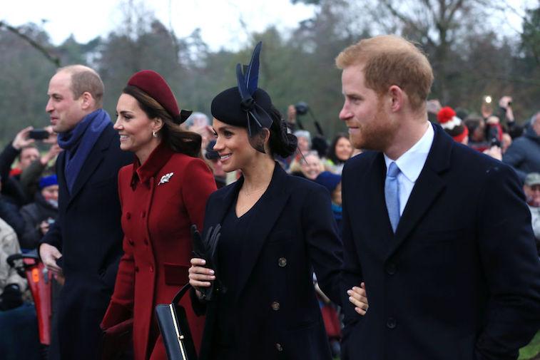 Prince William Kate Middleton Meghan Markle Prince Harry
