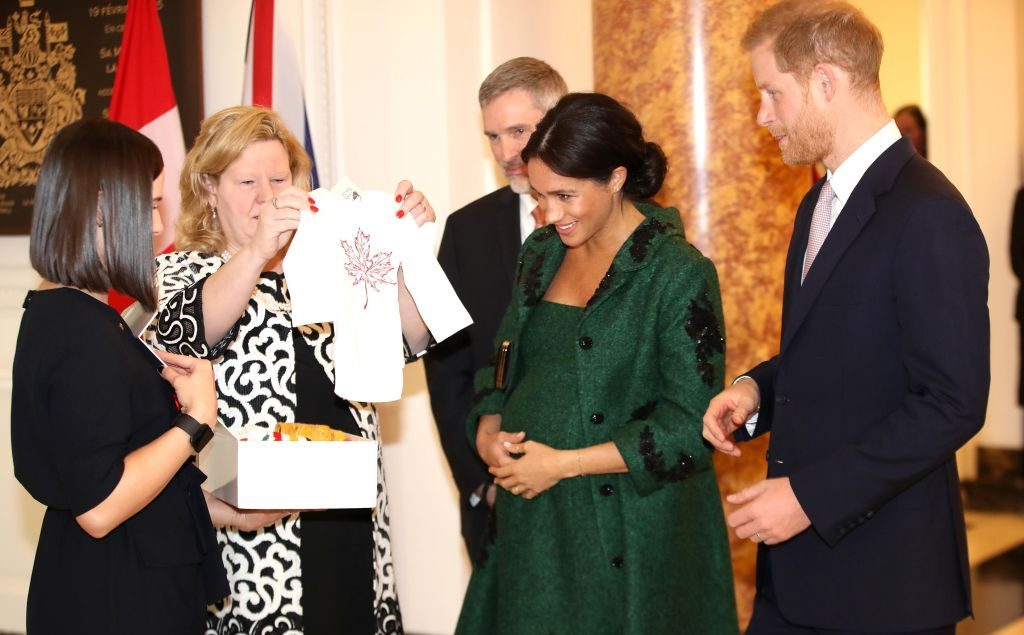 Baby Sussex watch: Fans spot intense movement in Meghan Markle's bump