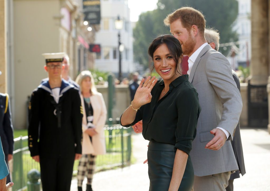 Meghan Markle and Prince Harry   Tim Ireland - WPA Pool/Getty Images