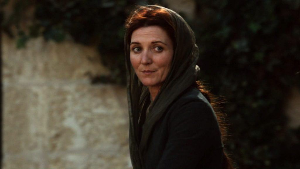 """Michelle Fairley as Catelyn Stark on """"Game of Thrones"""" 