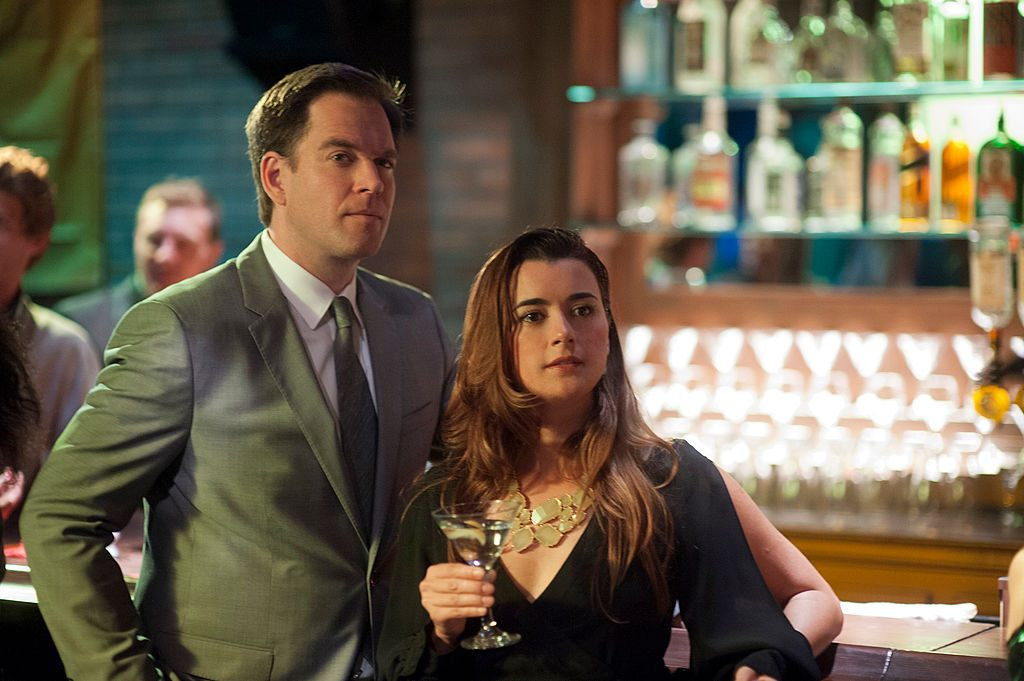 'NCIS' stars Michael Weatherly and Cote de Pablo