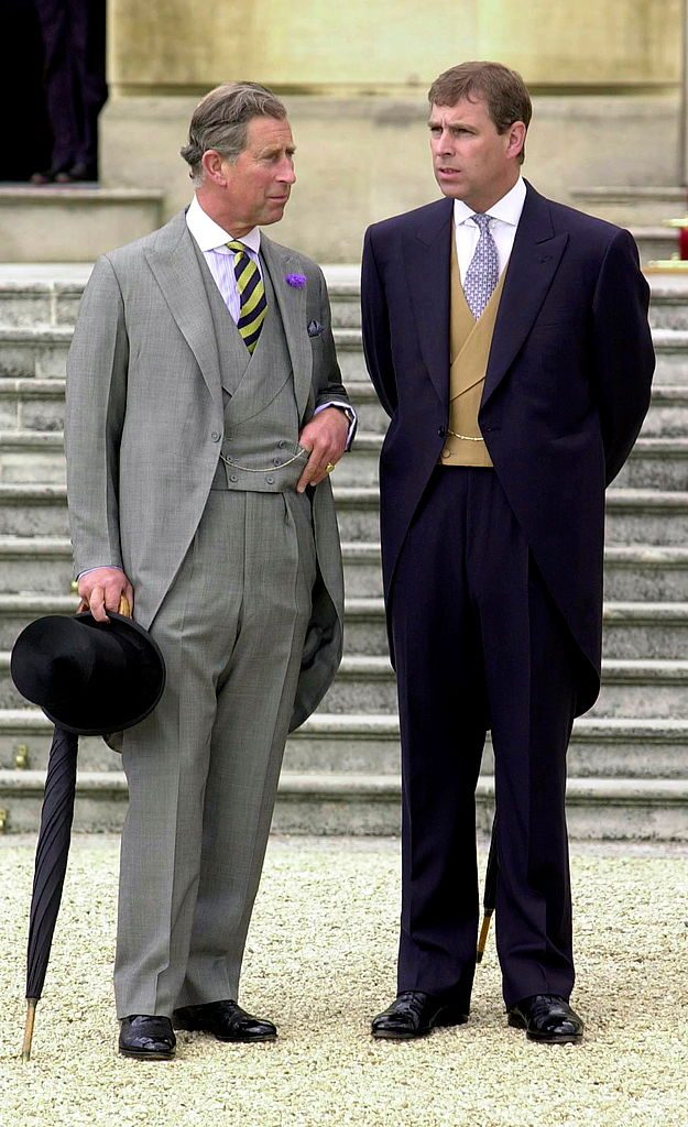Prince Charles and Prince Andrew