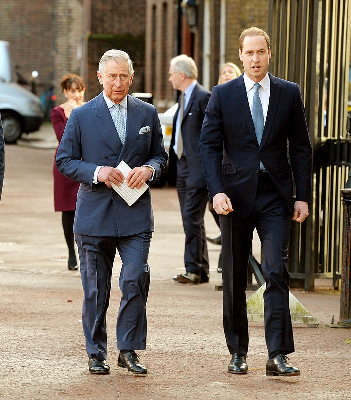 Prince Charles and Prince William