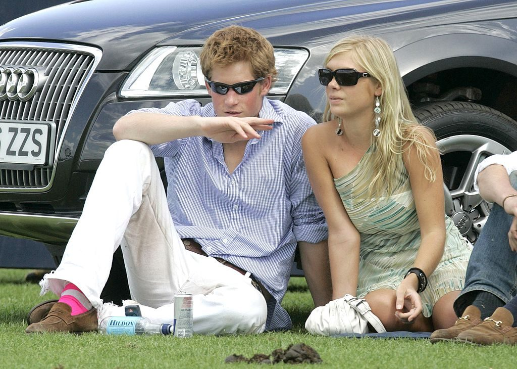 Prince Harry and his former girlfriend Chelsy Davy